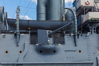 Aurora cruiser museum ship - Saint-Petersburg Russia