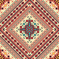 Romanian traditional pattern 16