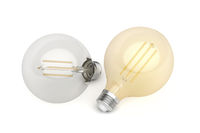 LED bulbs with different color temperature