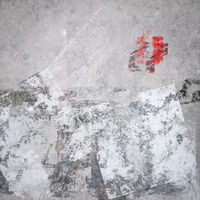 gray grunge paint background
