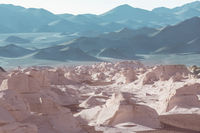 Unusual landscapes in Argentina