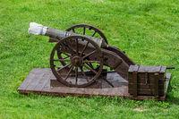 Fortress Cannon in Alba Carolina Citadel