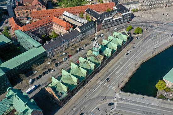 Old Stock Exchange Building in Copenhagen, Denmark