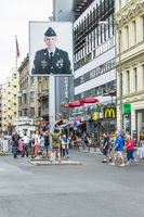 visitors at checkpoint charlie