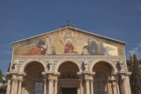 Church of All Nations in Garden Gethsemane on Mount of Olives, Jerusalem, Israel