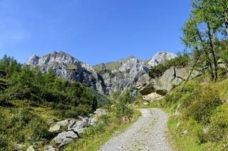 Weg zum Hochweissstein