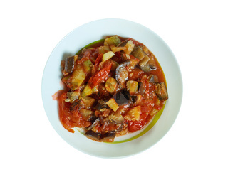 Melanzane con salsa di pomodoro