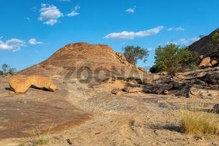 Brandberg mountain landscape, Namibia