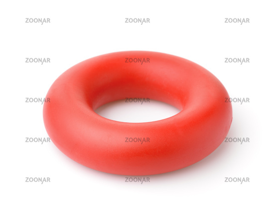 Red hand  rubber ring carpal expander