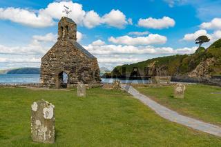 Cwm-yr-Eglwys, Pembrokeshire, Dyfed, Wales, UK