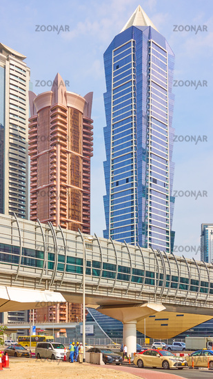 Modern towers in Dubai