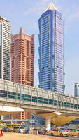 Modern towers in Dubai