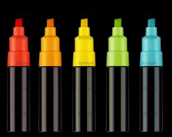 highlighter pens