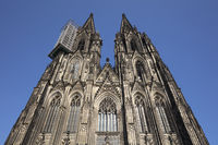 West facade at the Cathedral of Cologne