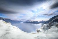 winter scenery snow landscape