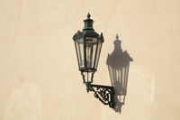 Lamp with shadow