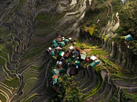 Batad Terraces, The Philippines - Aerial Photography