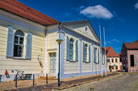 güstrow, germany - 07.06.2019 - historic ernst barlach theater