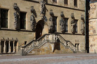 The town hall stairs in Osnabrück