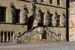 Die Rathaustreppe in Osnabrück