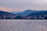 Lake Lugano at Dusk