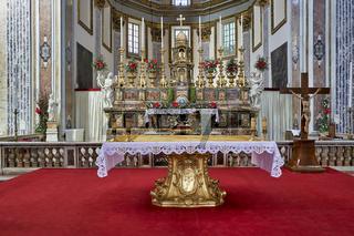 Naples Campania Italy. San Paolo Maggiore is a basilica church in Naples