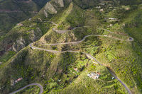 Mountain Road Aerial