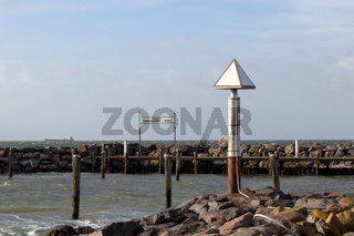Timmendorf Strand Schild 001. Insel Poel