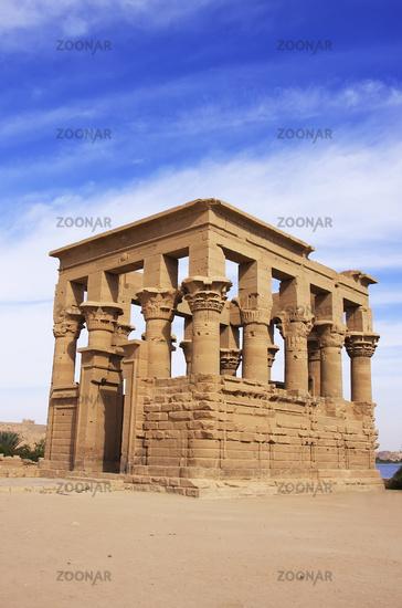 Trajan kiosk, Philae Temple, Lake Nasser, Egypt