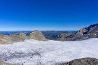 Plaine-Morte-Gletscher mit Gletscherhore