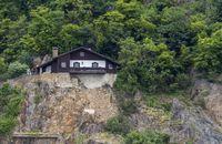 house at a hillslope