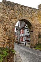Archway of the historic city wall in Bad Muenstereifel