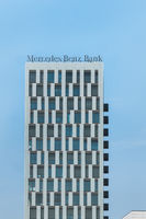 mercedes benz bank building