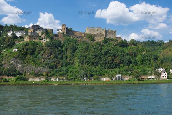 Sankt Goar at Rhine River,Rhineland-Palatinate,Germany