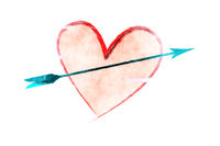 Heart with an arrow