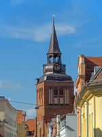 St. Mary church in the old town of Güstrow, Mecklenburg-Western Pomerania, Germany