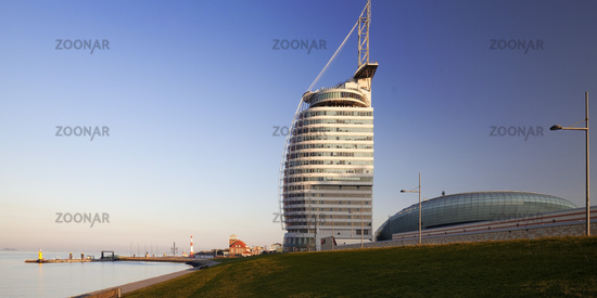 Atlantic Hotel Sail City and Climate House, Bremerhaven, Bremen, Germany, Europe