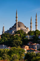 Suleymaniye Mosque in City of Istanbul