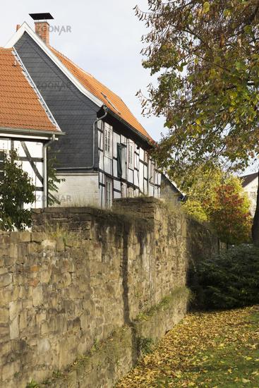 Townwall in Hattingen, Germany