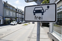 Free parking for electric cars