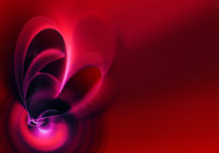 abstract fractal heart