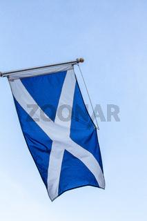 Scottish Saltire flag, St. Andrew's Cross