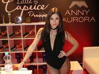 Czech erotic model Little Caprice at the 22rd erotic fair Venus 2018 Berlin