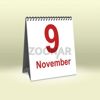November 9th   9.November