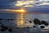 sunset at Poel