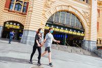 Quiet Melbourne Streets During Coronavirus Pandemic