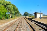 Train station Beinheim Alsace France