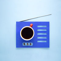 Coffee radio.