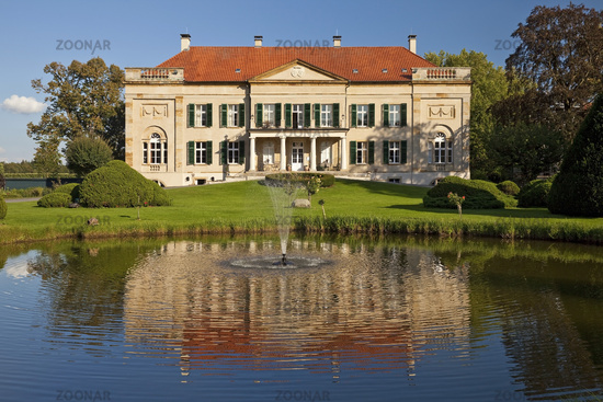 Harkotten Castle, Korff Castle, manor house, Sassenberg, North Rhine-Westphalia, Germany, Europe