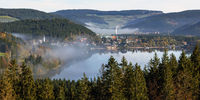 morning mood at the Titisee in the Black Forest